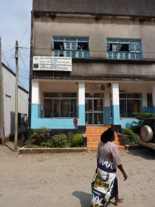 RSTGA vanha pääkonttori Tukuyussa Tansaniassa