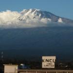 KNCU:n toimitilat Kilimanjaron juurella.