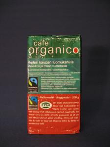Cafe Organico luomukahvi